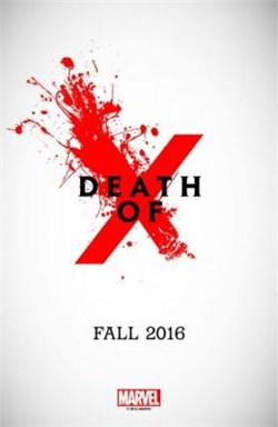 Death of X