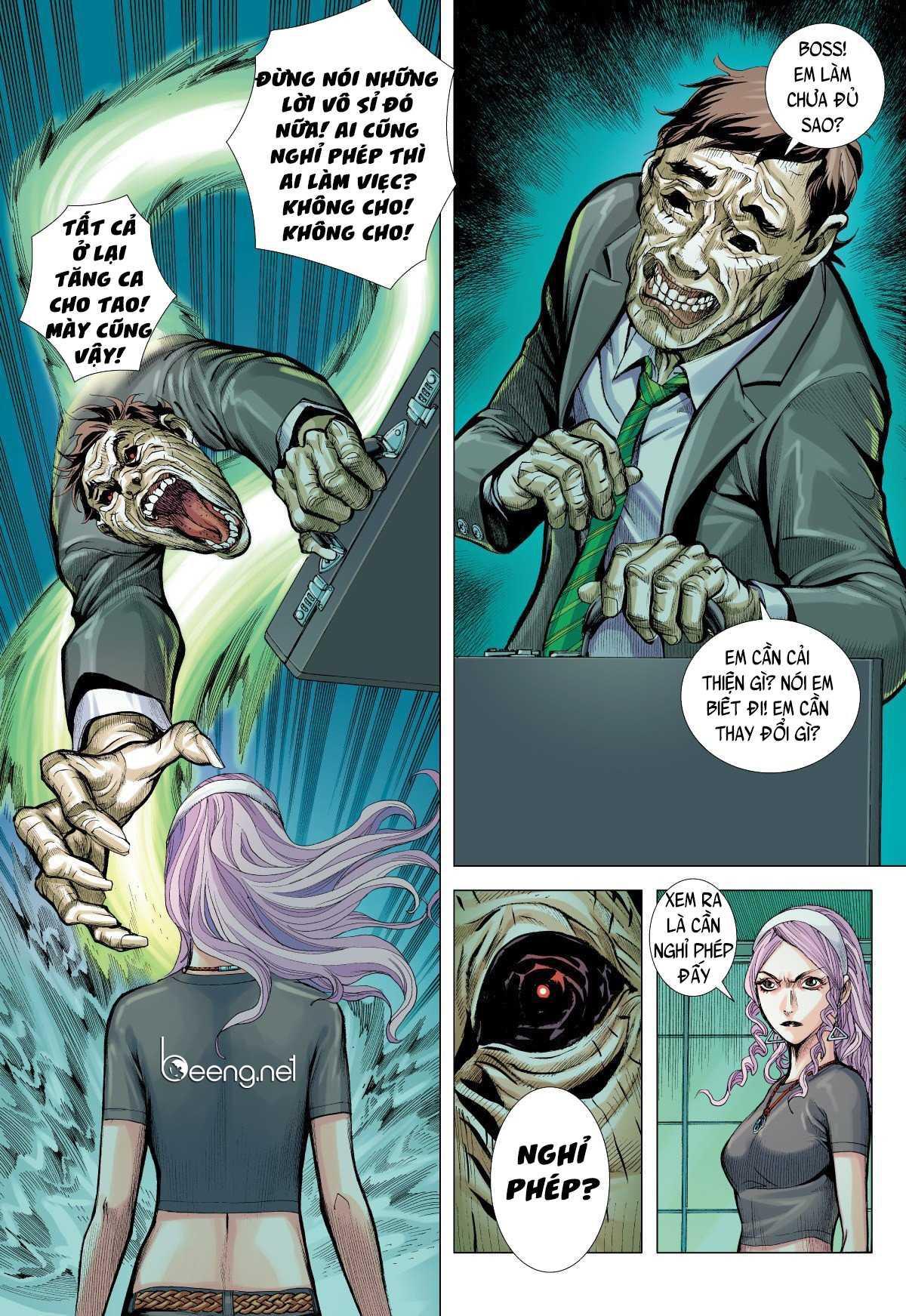 Khu Ma Long Tộc Truyện: Chapter 5