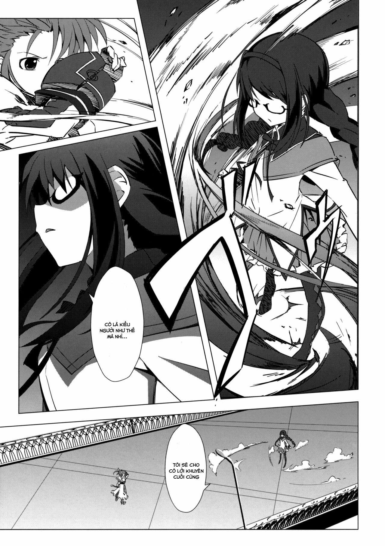Mahou Shoujo Lyrical Nanoha x Madoka (Crossover): Chapter 3