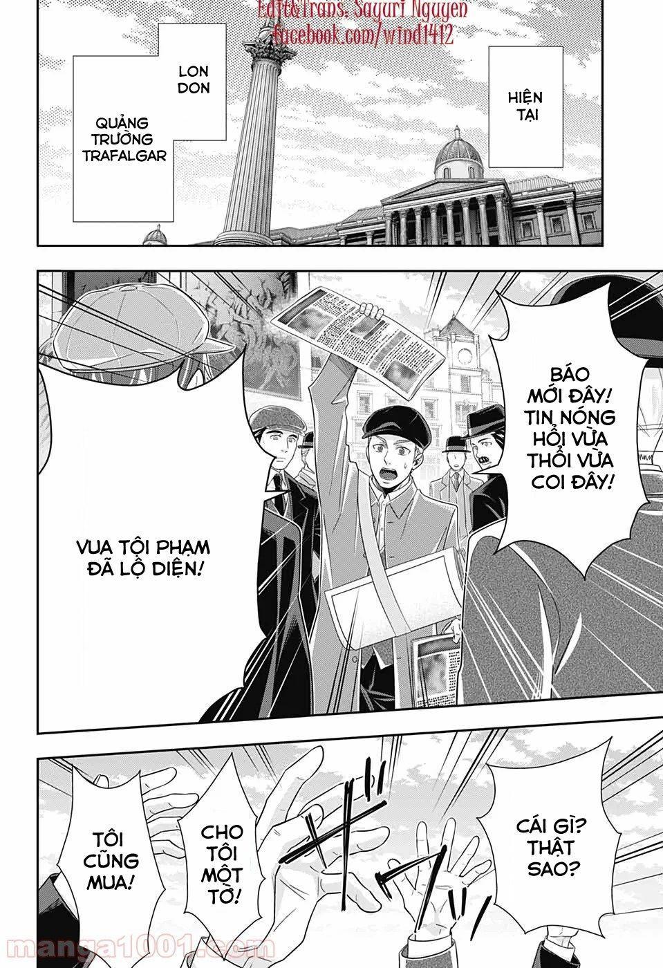 Yukoku No Moriarty: Chapter 48