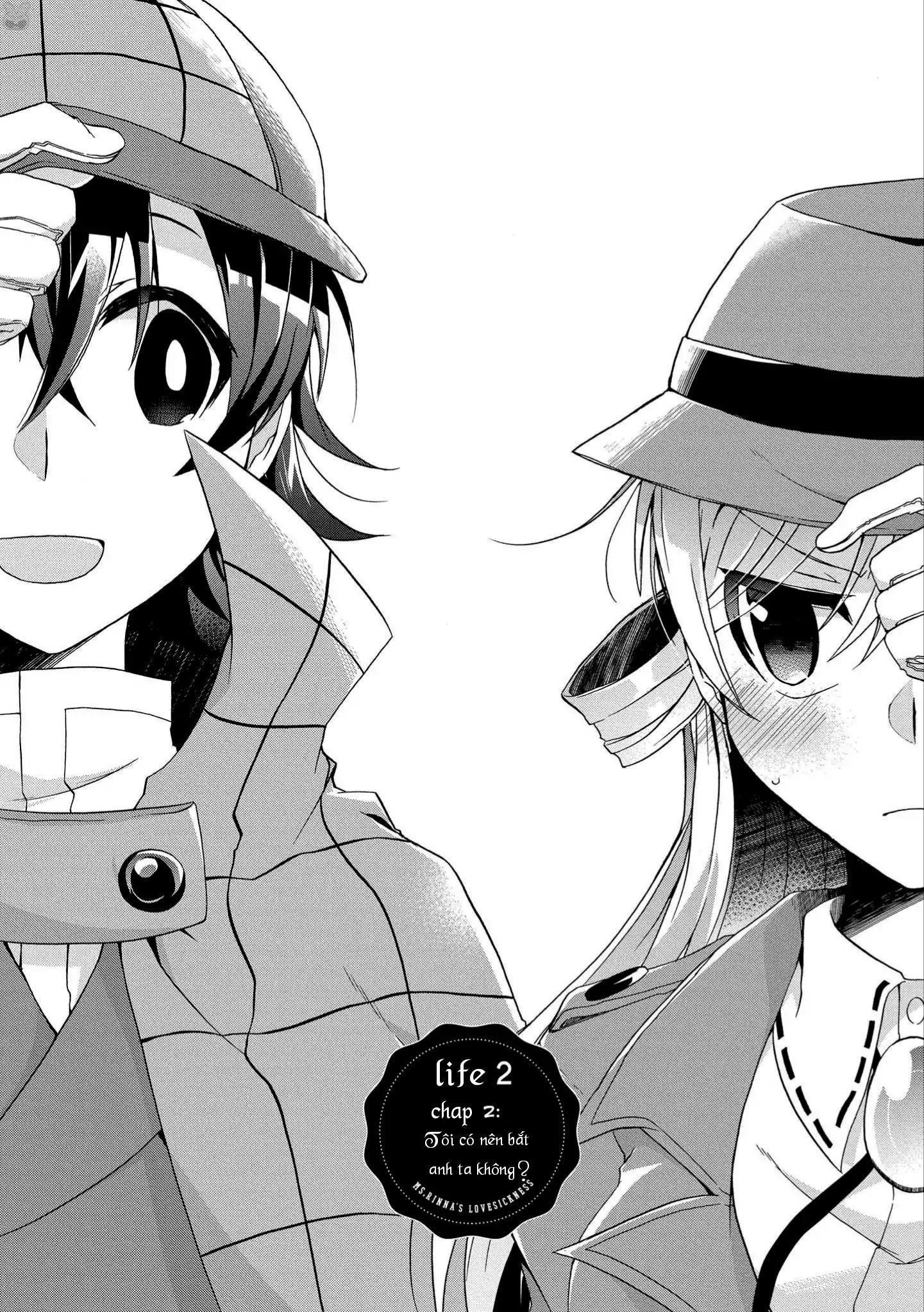 Tình yêu của Rinna: chap 2: tôi có nên bắt anh ta không?