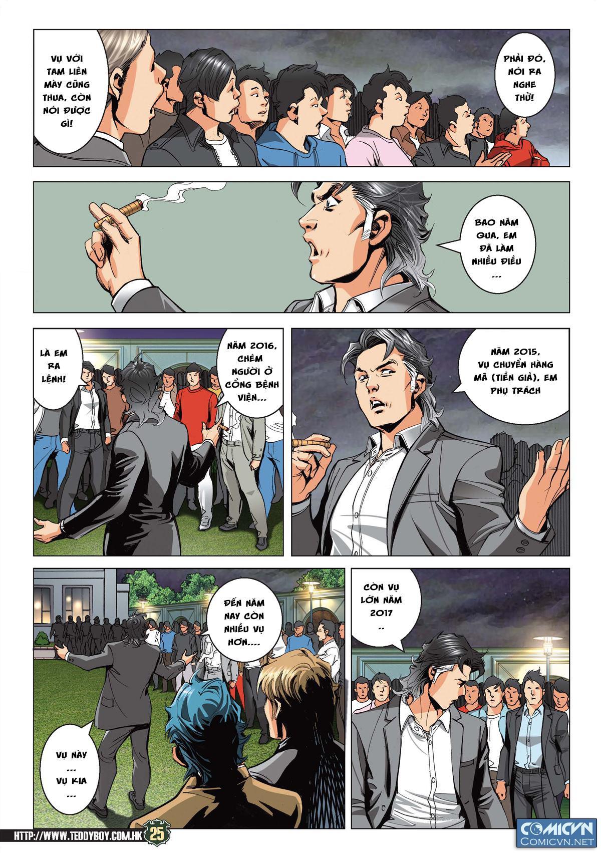 Người Trong Giang Hồ RAW: Chapter 2191: Nam Ca đoạt vị 2