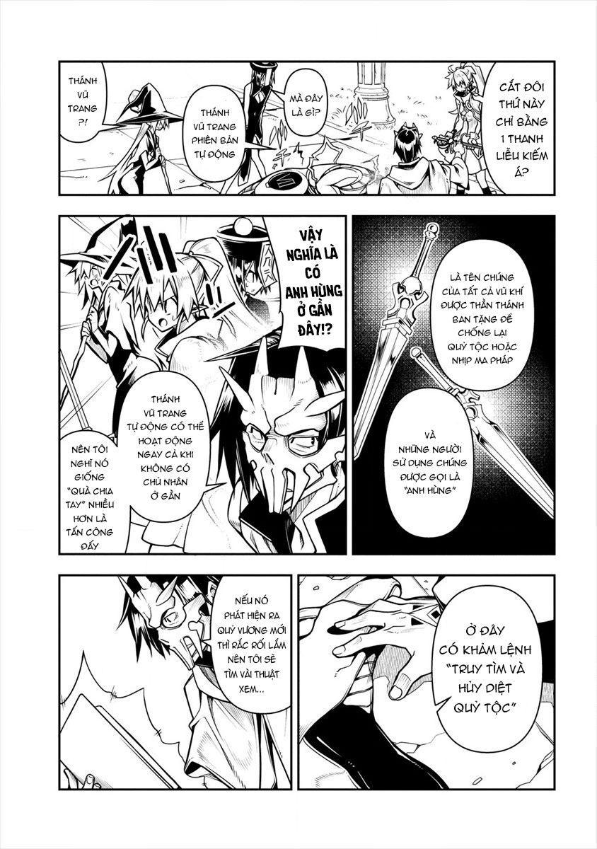 Manadeshi ni Uragirarete Shinda Ossan Yuusha, Shijou Saikyou no Maou Toshite Ikikaeru: Chapter 2.1