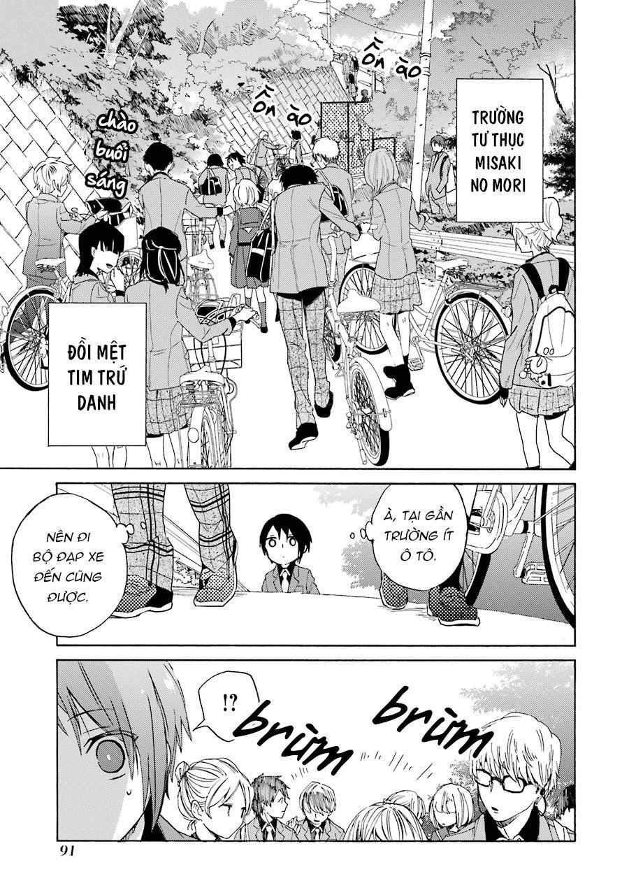Bạn Cùng Lớp Của Shiraishi-kun: Chapter 4: Nụ Cười (Phần 1)
