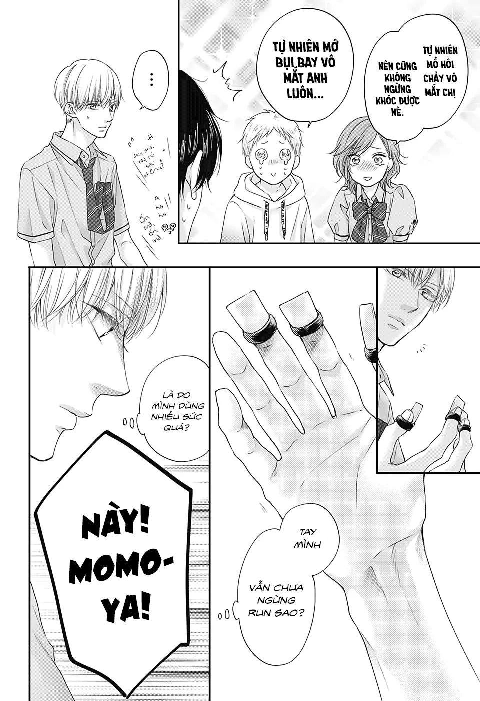 Kono Oto Tomare!: Chapter 97: Em đi nữa