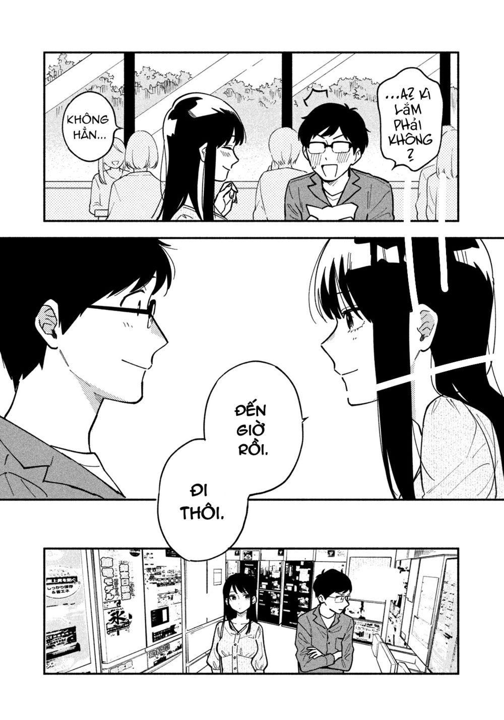 Yaiteru Futari: Chapter 4: Buổi hẹn hò cùng tiệc BBQ (1)