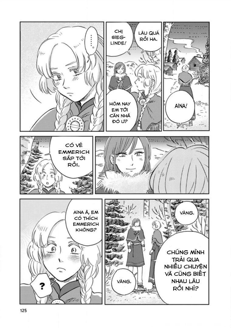 Hokuou Kizoku to Moukinzuma no Yukiguni Karigurashi: Chapter 38