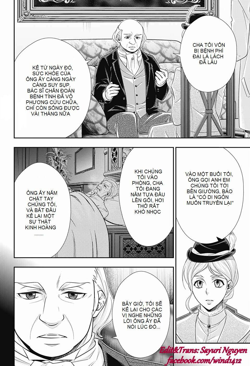 Yukoku No Moriarty: Chapter 41