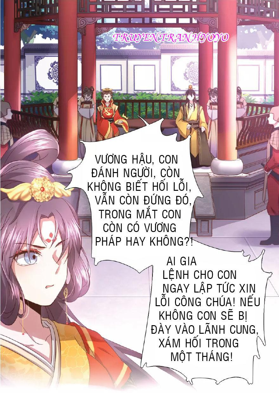 Thần Trù Cuồng Hậu (truyentranhyoyo): Chương 1: Vương Hậu Phụng Tiên