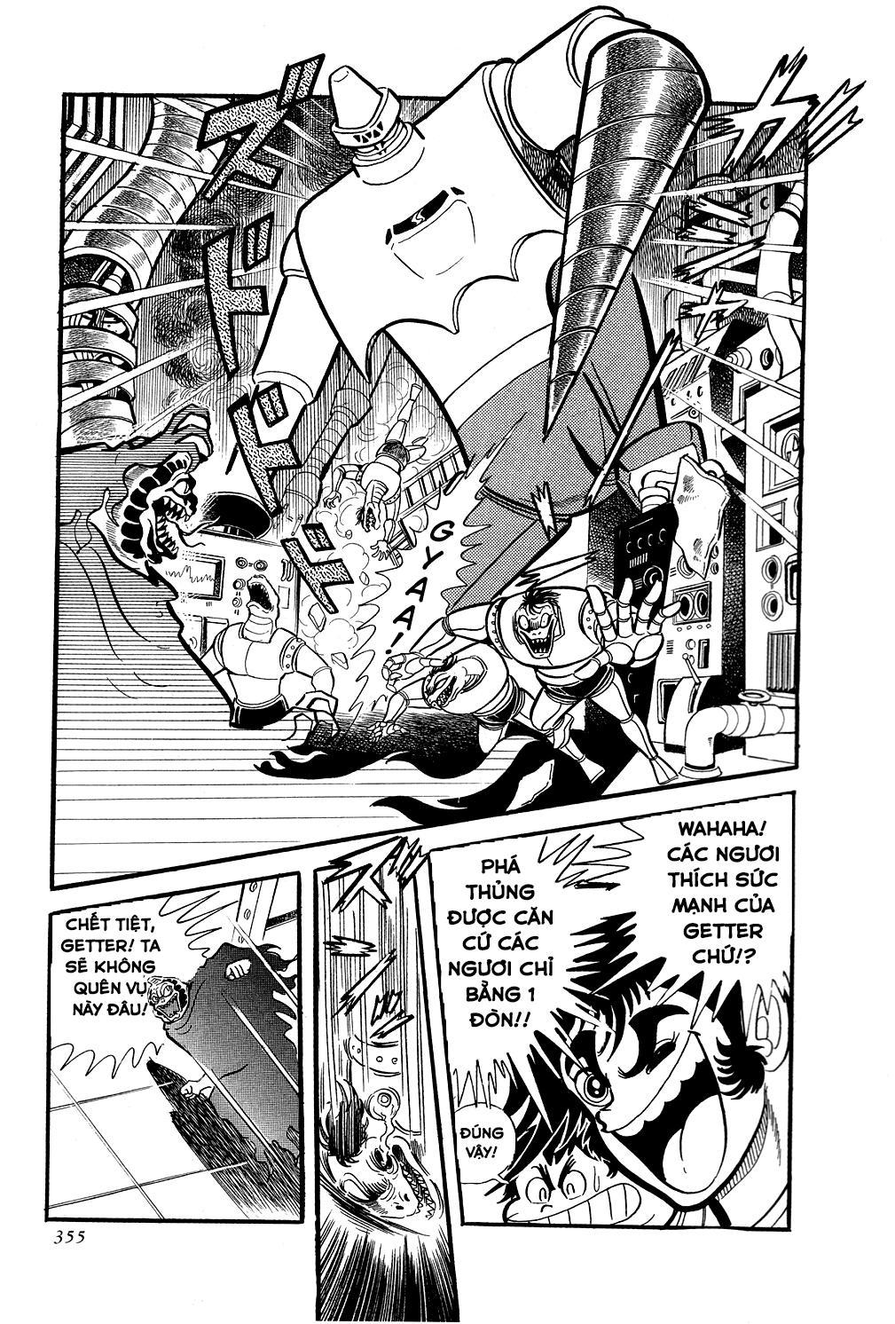 Getter Robo: Chapter 6
