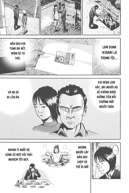 Ikigami: Chapter 33: . Episode 11: Giấy nhân sinh (Phần 3)