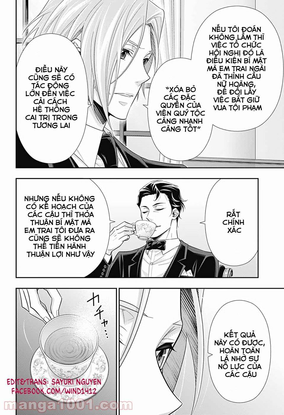 Yukoku No Moriarty: Chapter 56