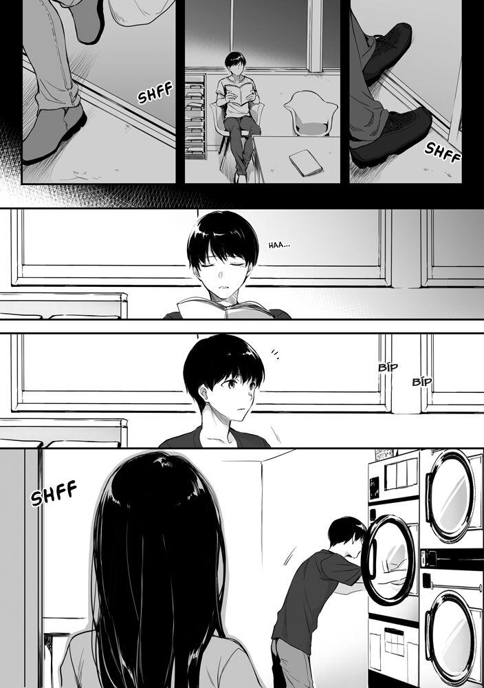 A Lovely Onee-San at Laundromat: Chapter 2