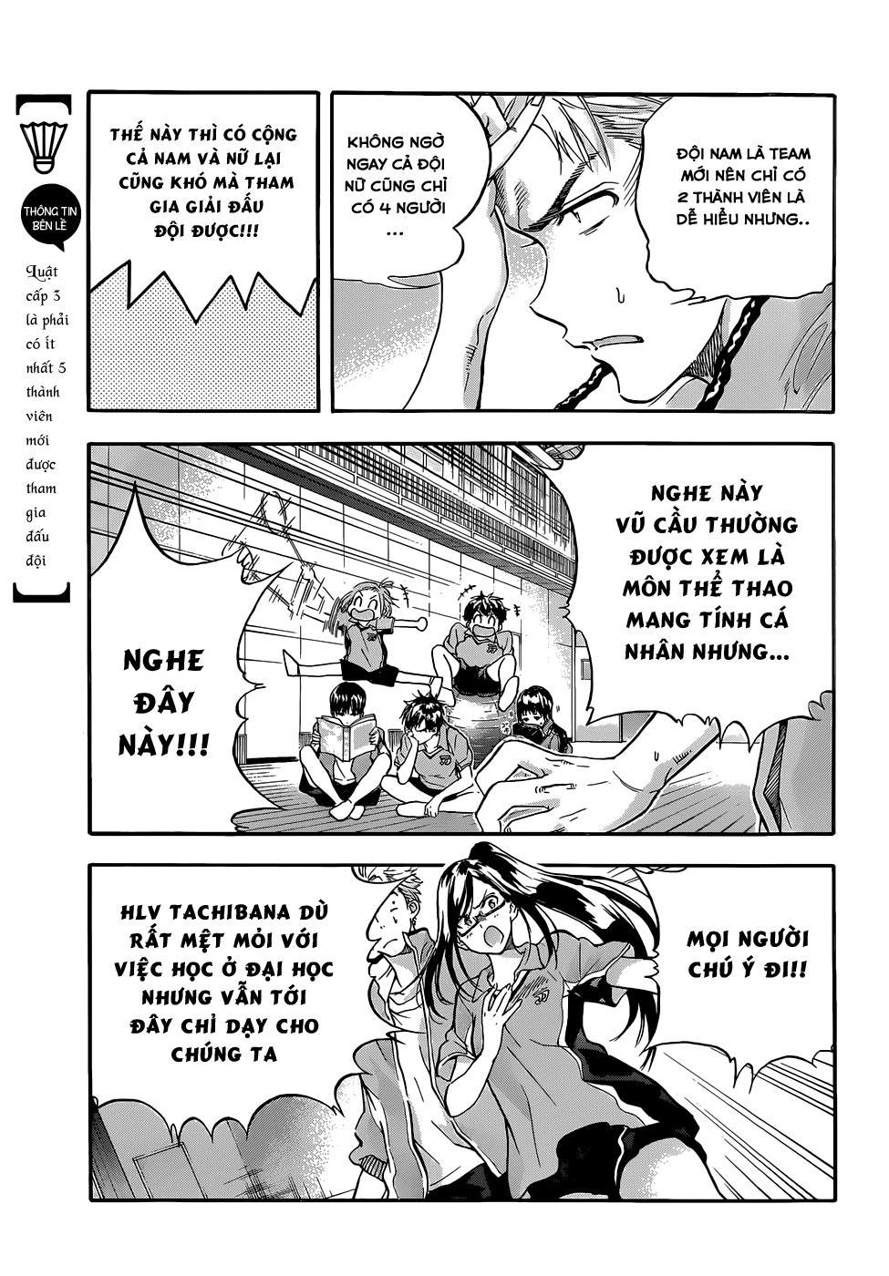 Hanebado!: Chapter 1
