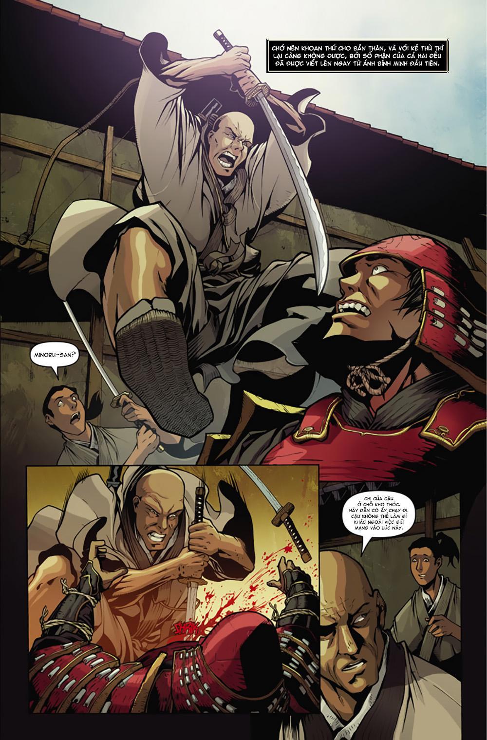 Nhiệt Huyết Võ Sĩ - Samurai's Blood: Nhiệt huyết võ sĩ - samurai's blood chapter 1