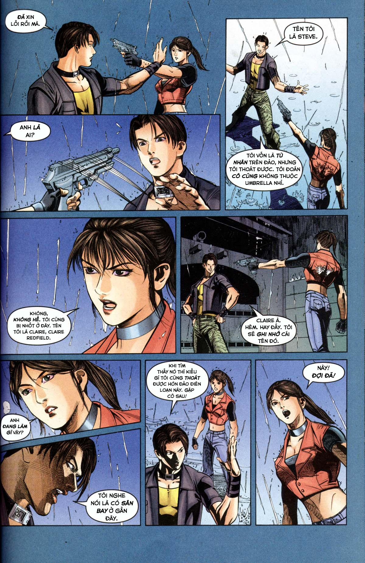 Resident Evil - Code: Veronica - Book One: Chapter 1