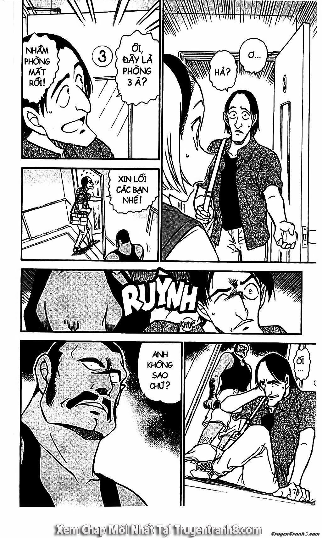 Thám Tử Lừng Danh Conan: Conan - thám tử lừng danh chap 619