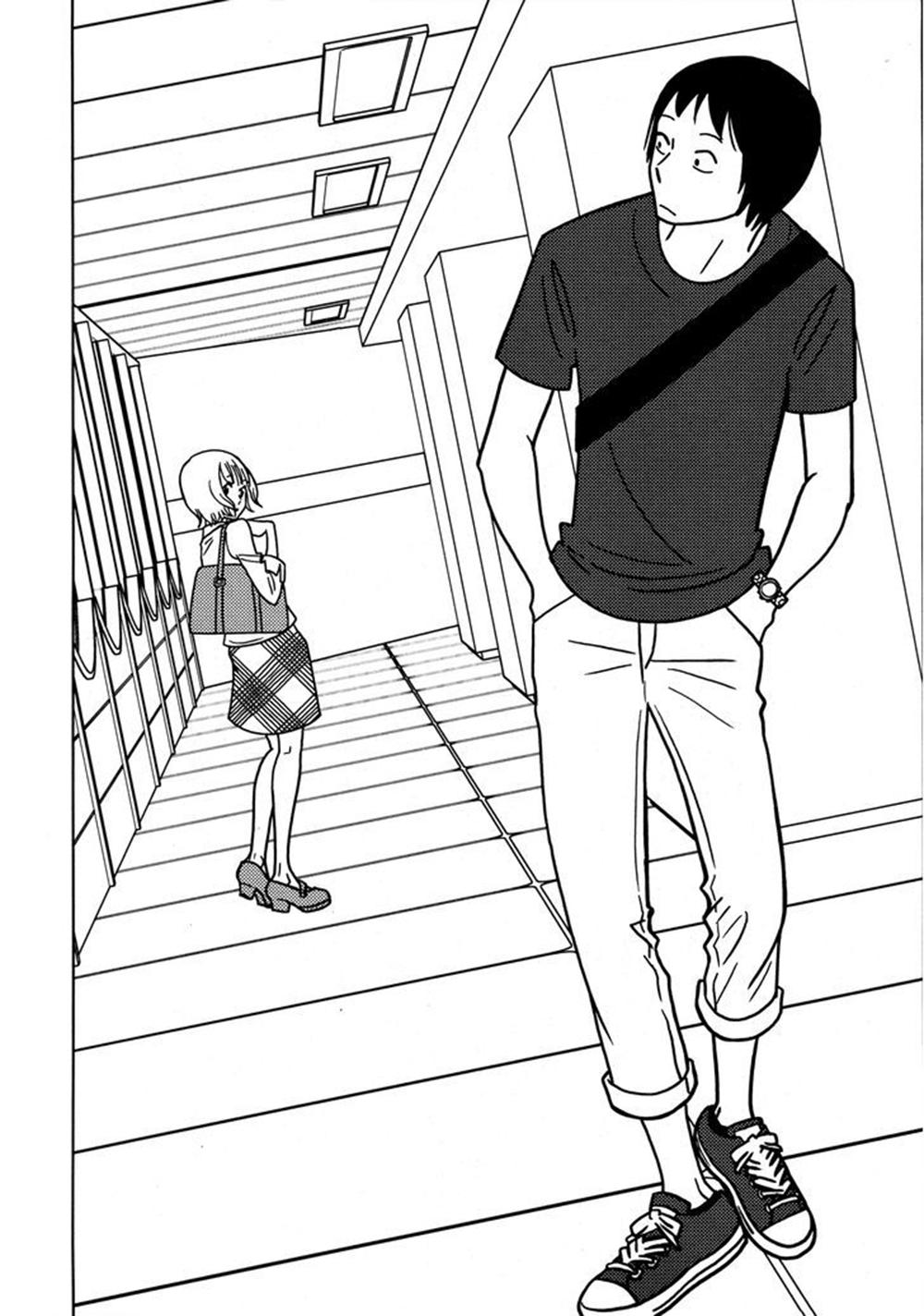 Glass Mukou no Ano Ko: Chapter 1: One shot