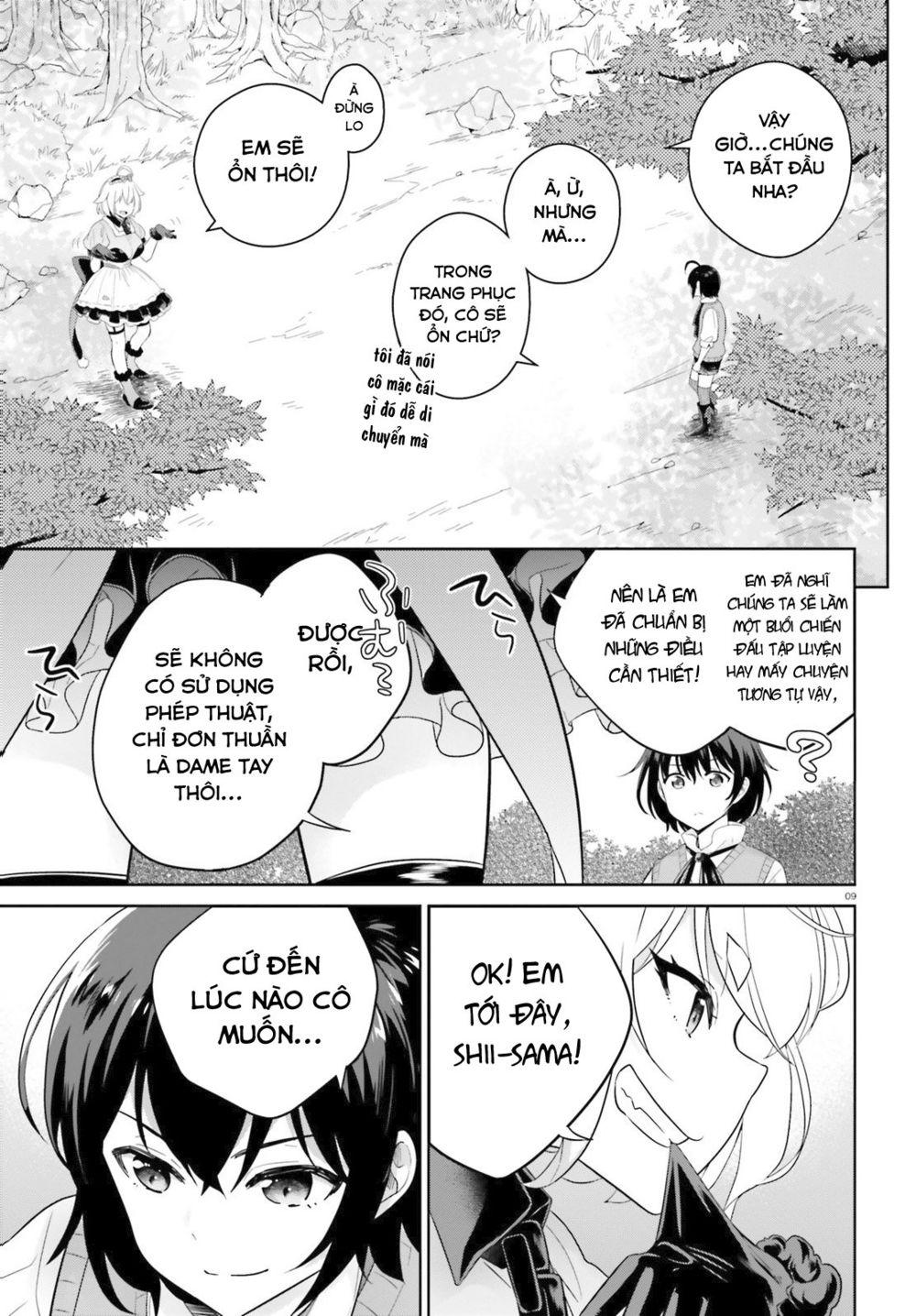 Shindou Yuusha to Maid Onee-san: Chapter 5