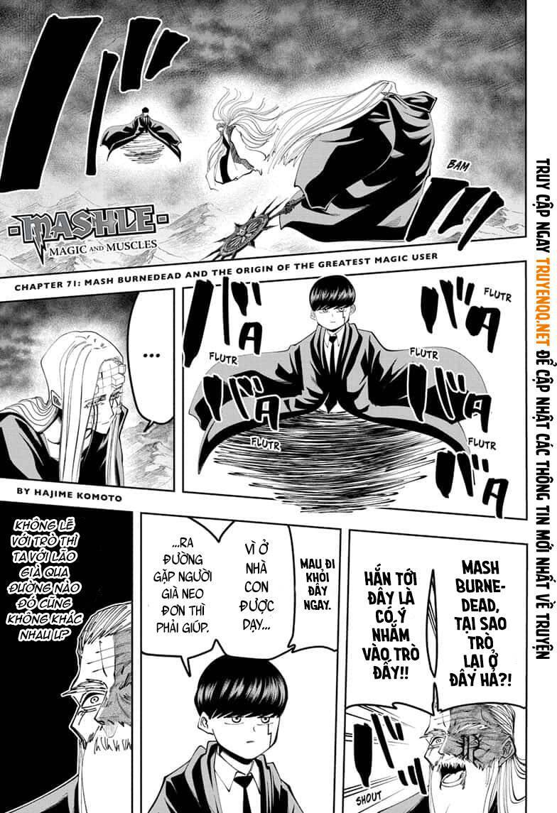 Mashle: Magic and Muscles: Chapter 71