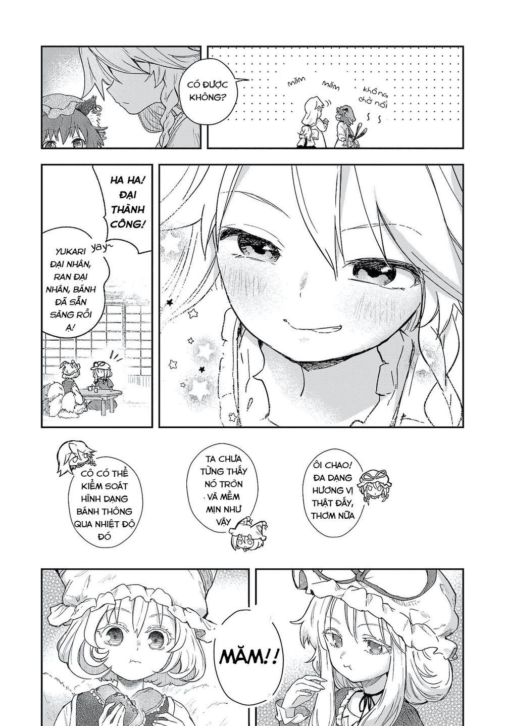 Touhou Harapeko ~ Starving Marisa's Blessed Meal: Chapter 6