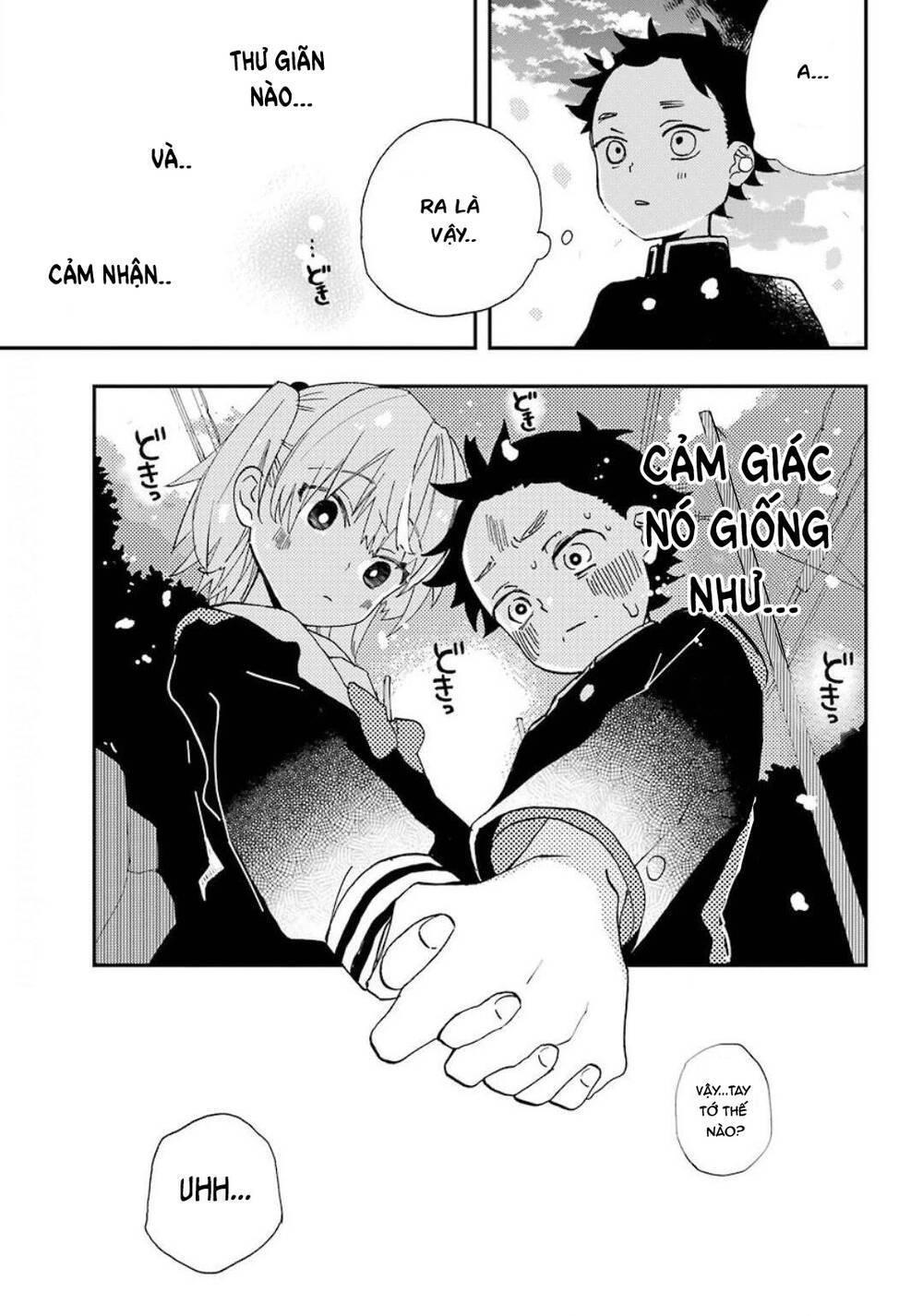 Hajimete No Suwa-San: Chapter 2
