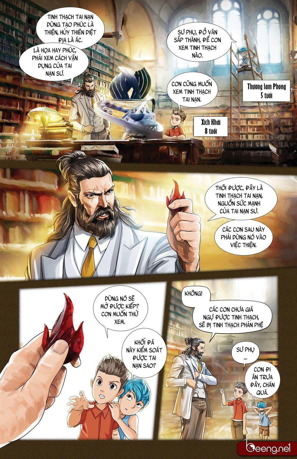 Master of Disaster: Chapter 11