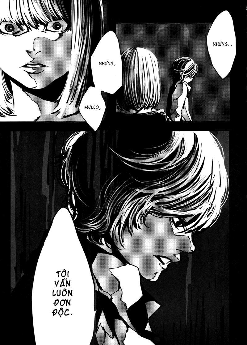 Cuốn Sổ Tử Thần - Doujinshi Mello: Chapter 1