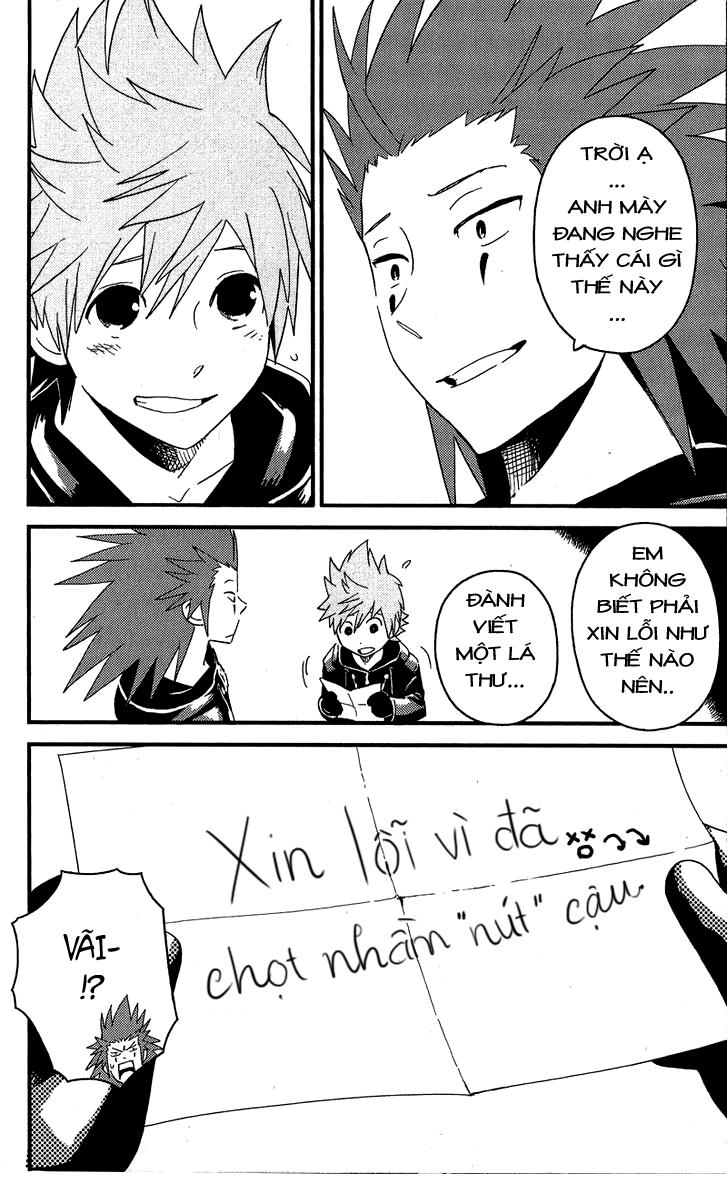 Kingdom Hearts: 358/2 Days: Kingdom hearts: 358/2 days chap 17 - công tắt
