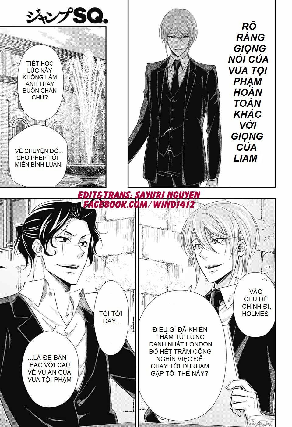 Yukoku No Moriarty: Chapter 31