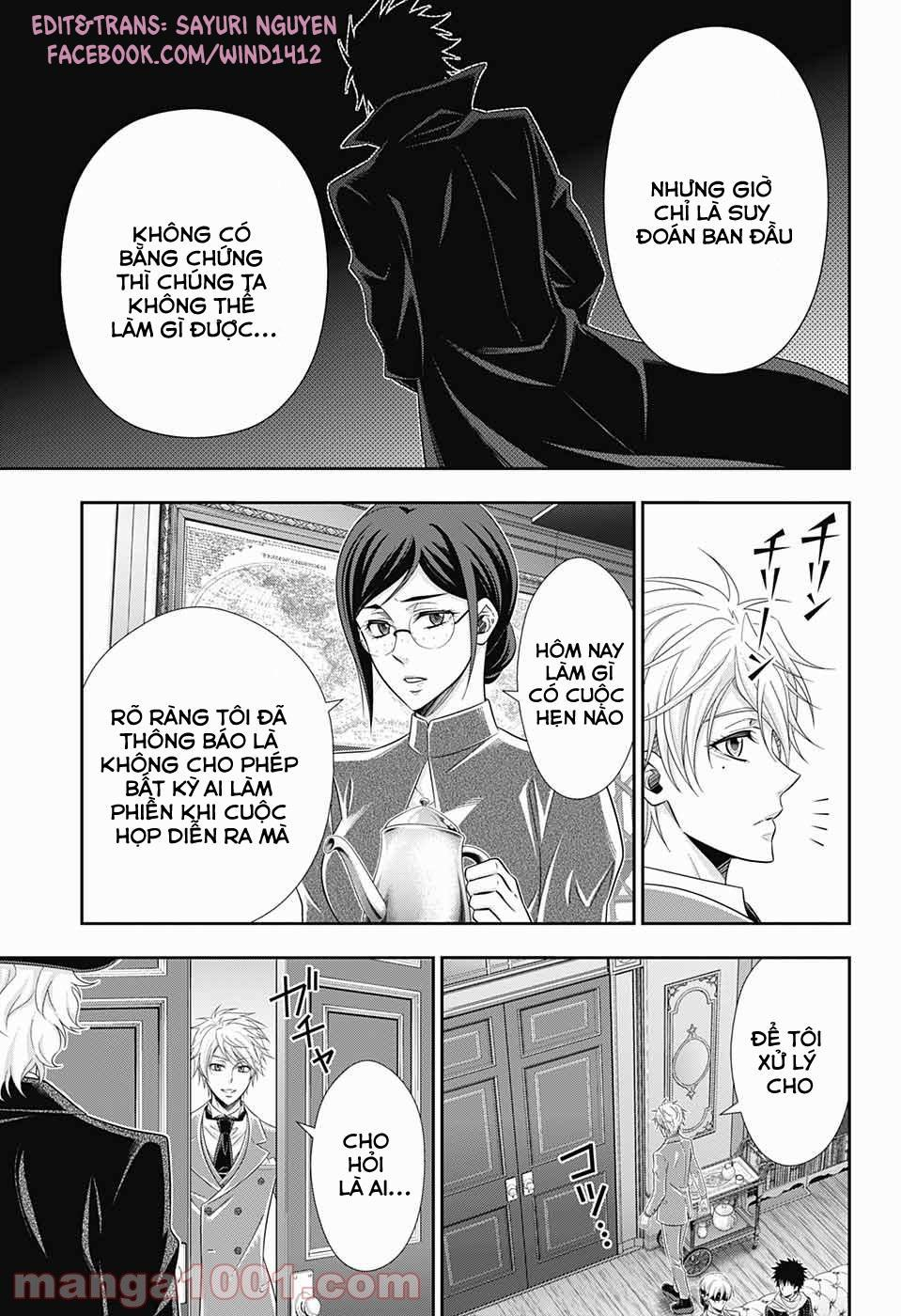 Yukoku No Moriarty: Chapter 58