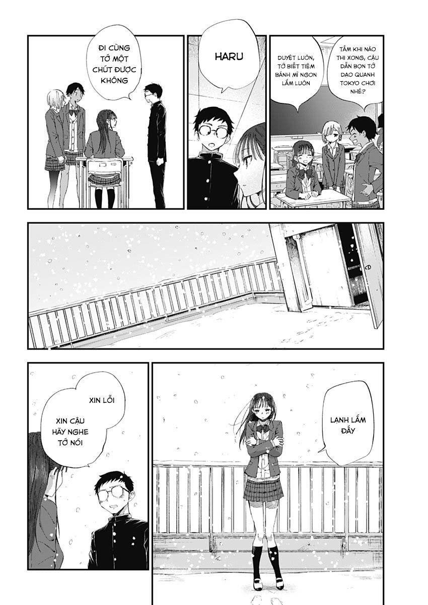 Seinen Shoyo yo, Haru wo Musabore: Chapter 1: Không đâu, tuyệt đối không