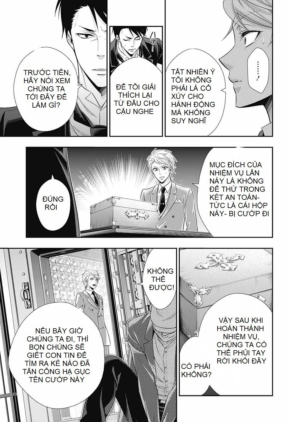 Yukoku No Moriarty: Chapter 24