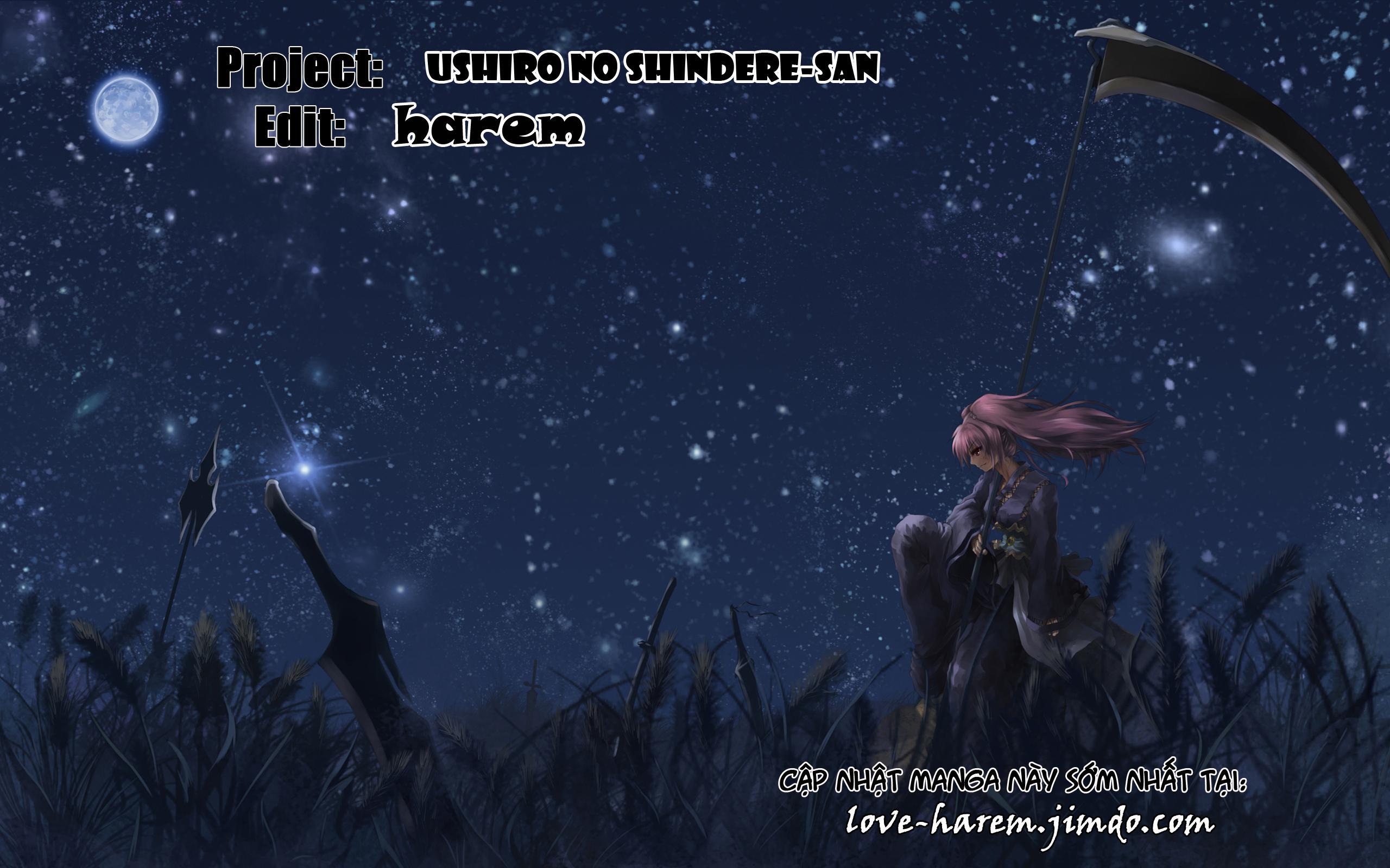Ushiro no Shidere-san: Ushiro no shidere-san chap 6