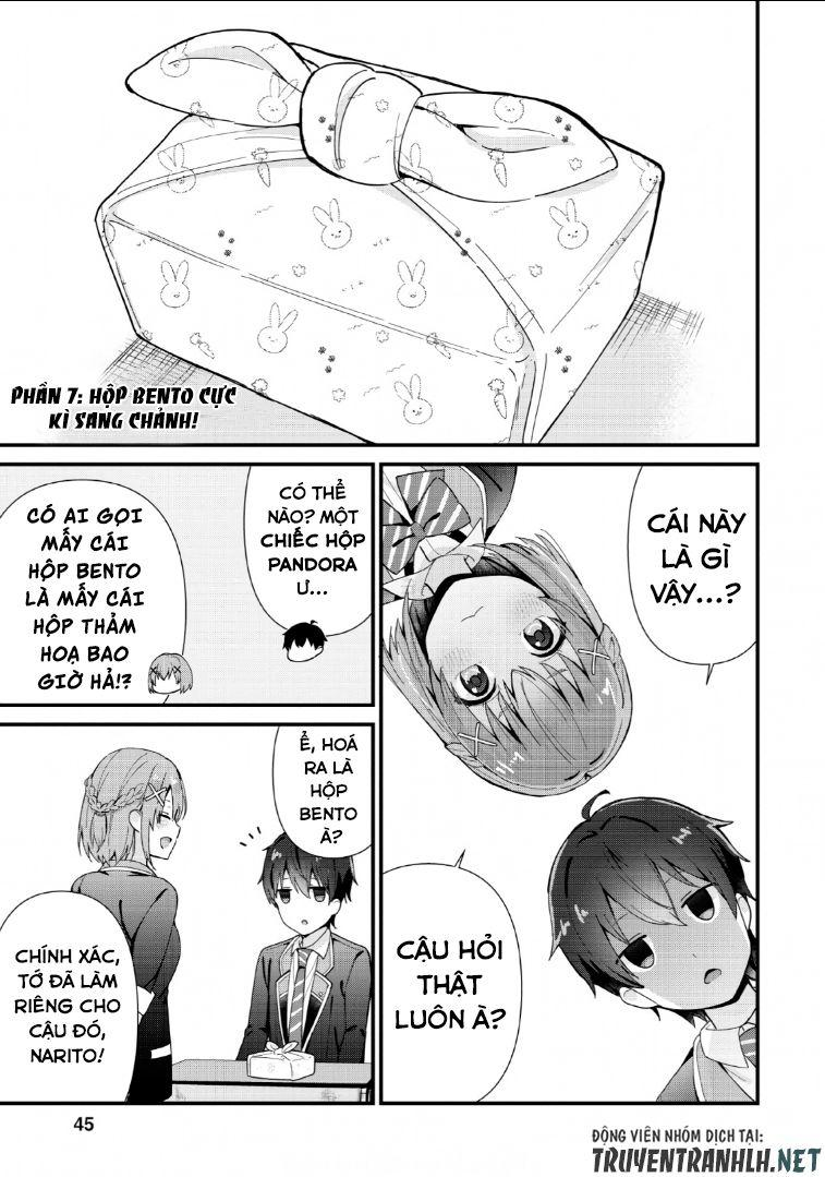 Tonari no Seki ni Natta Bishoujo ga Horesaseyou to Karakatte Kuru ga Itsunomanika Kaeriuchi ni Shite: Chapter 2