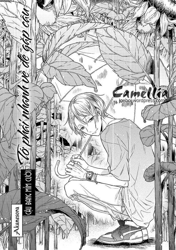 [Camellia] Cậu Đang Mỉm Cười: Chapter 1