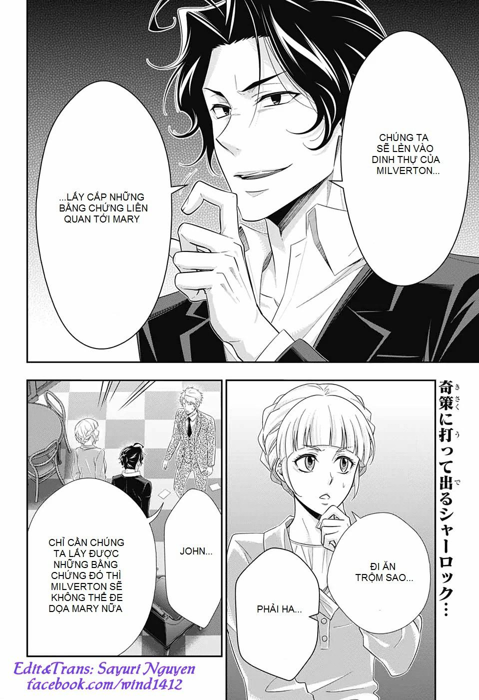 Yukoku No Moriarty: Chapter 45