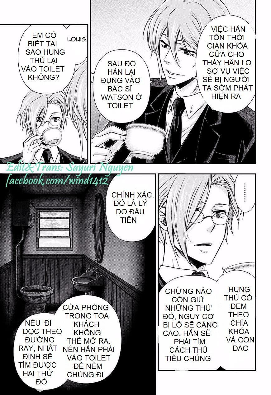 Yukoku No Moriarty: Chapter 16