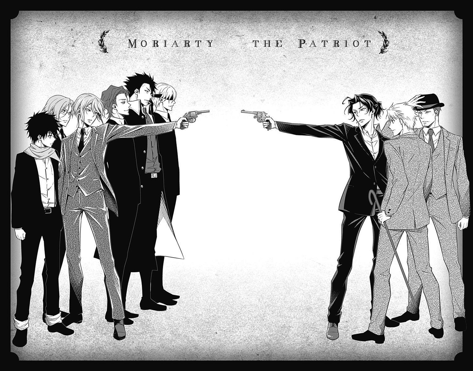 Yukoku No Moriarty: Chapter 52