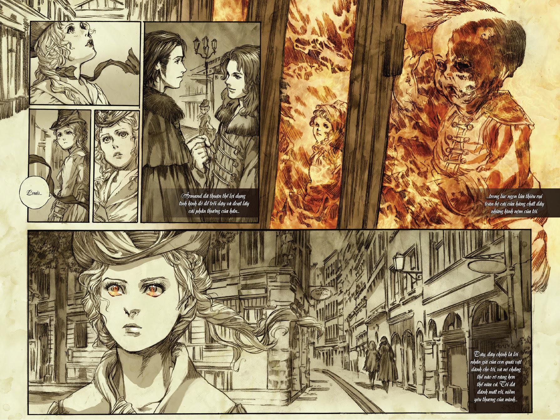 Đàm thoại cùng ma cà rồng: chuyện của Claudia: Chapter 4