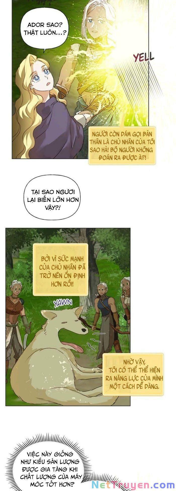 Triệu Hồi Sư Với Mái Tóc Màu Hoàng Kim: Chapter 53