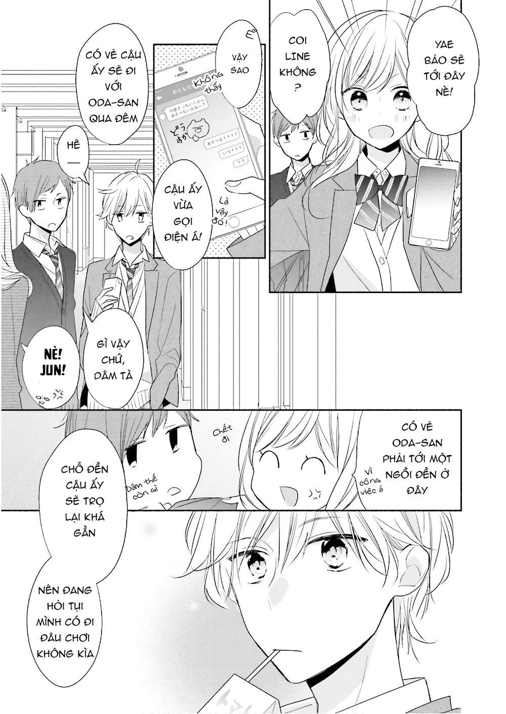Tsugi wa Sasetene: Chapter 18