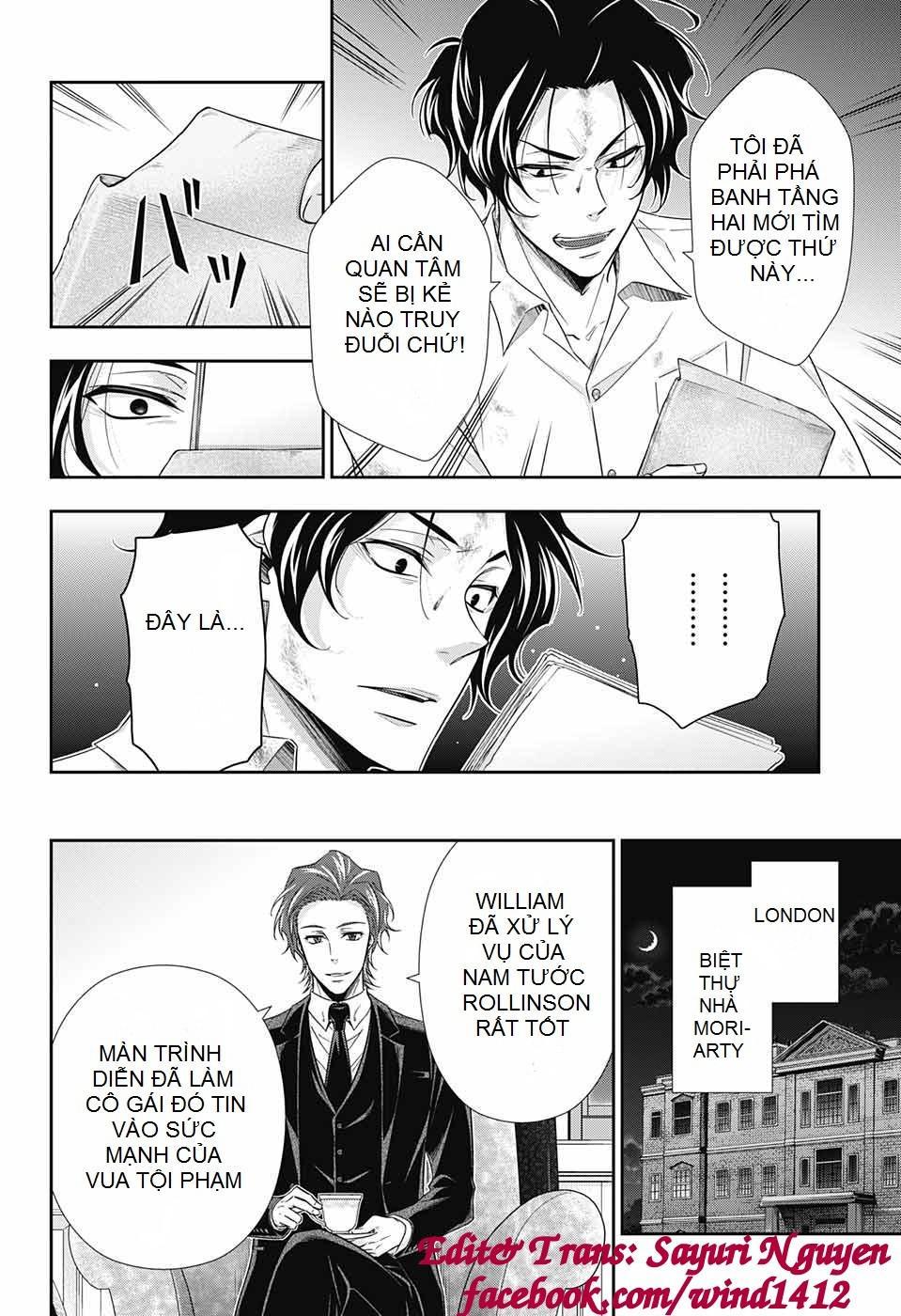 Yukoku No Moriarty: Chapter 21