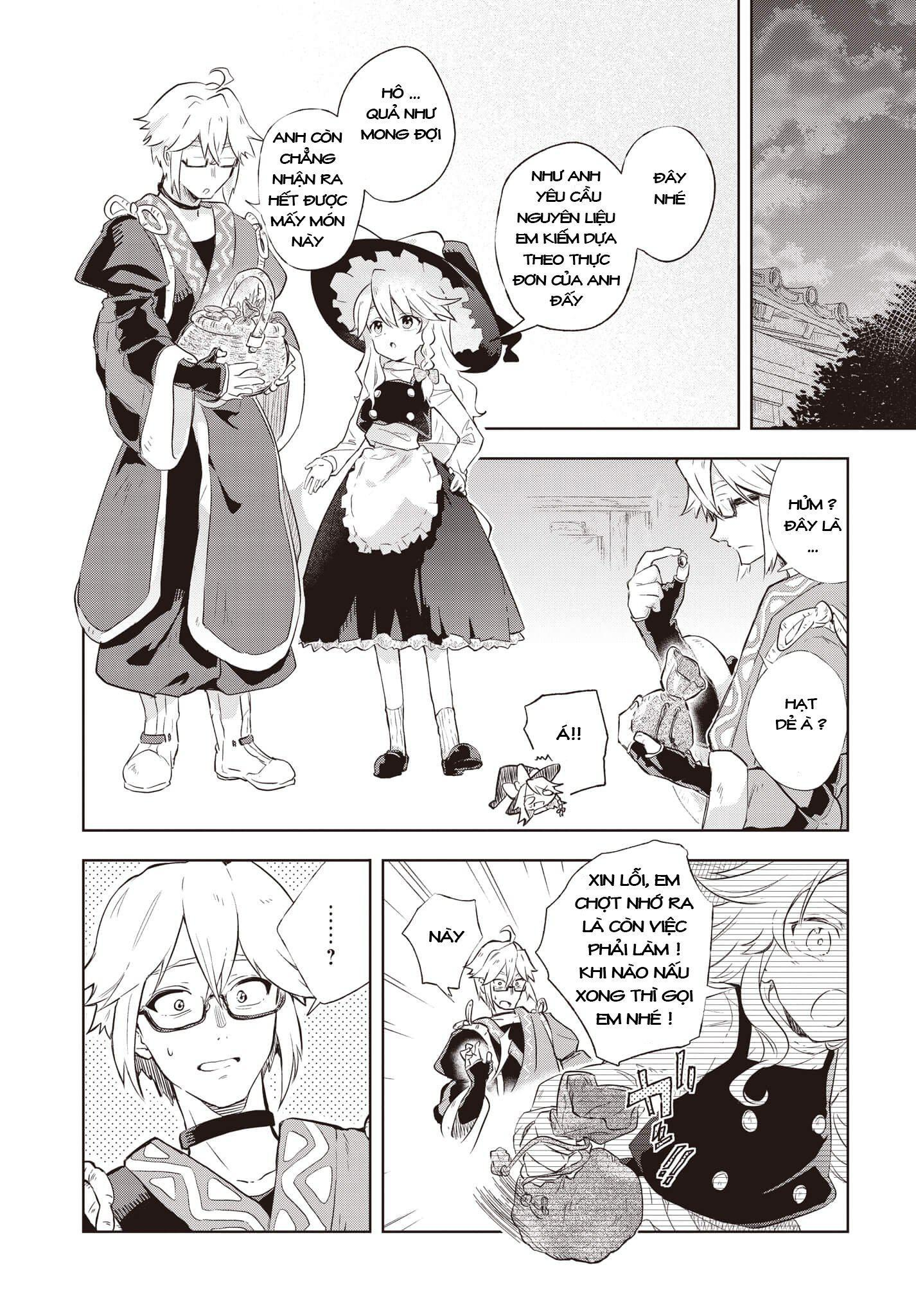 Touhou Harapeko ~ Starving Marisa's Blessed Meal: Chapter 2021
