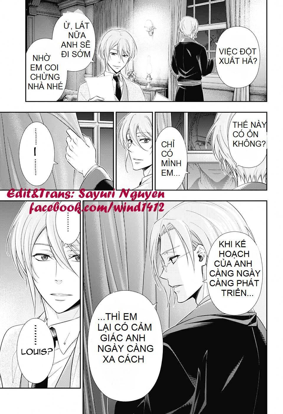 Yukoku No Moriarty: Chapter 10