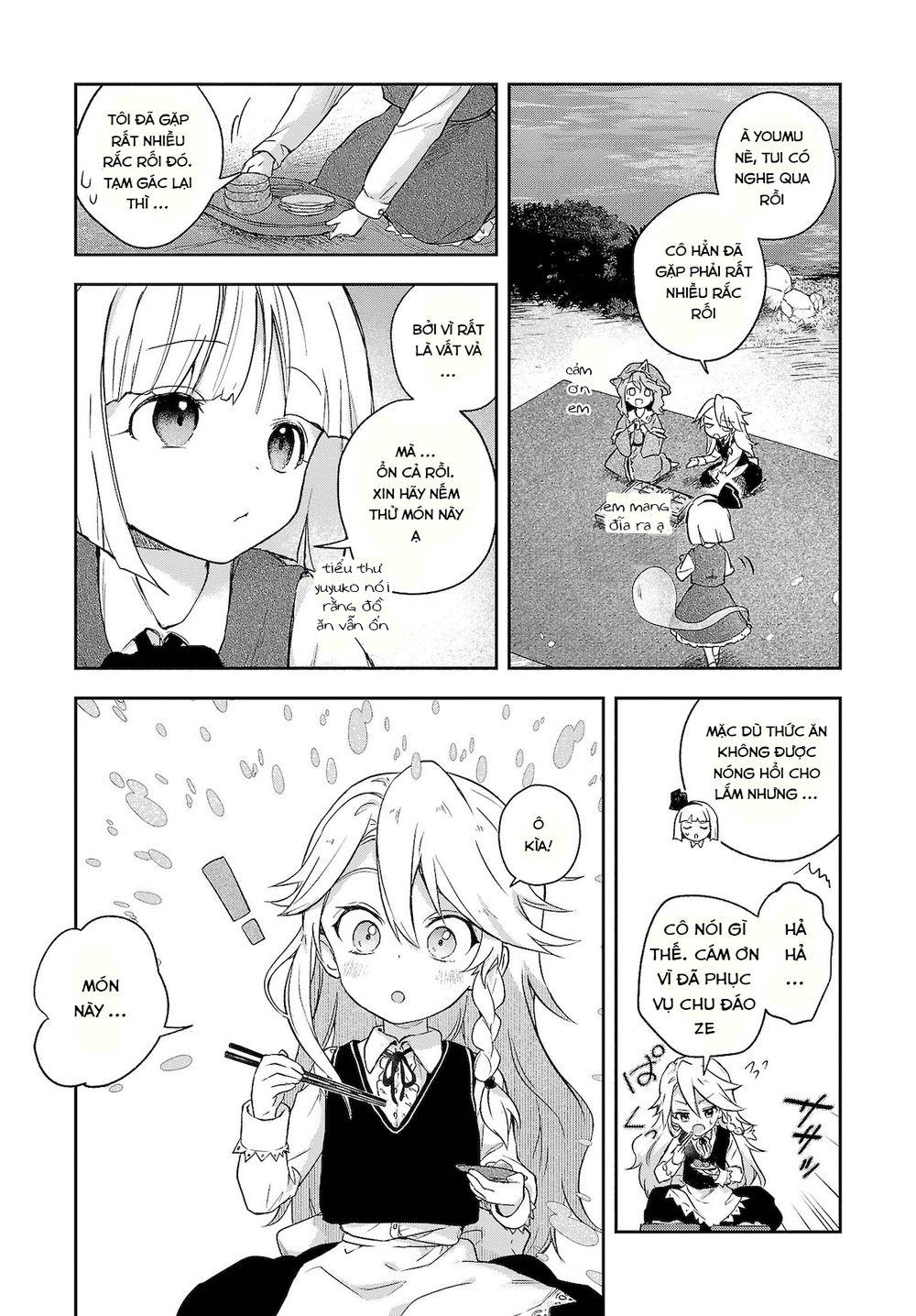 Touhou Harapeko ~ Starving Marisa's Blessed Meal: Chapter 5