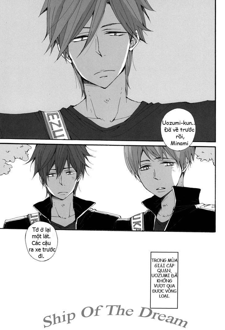 Free! dj - Seishun Melancholy One Day: Chapter 1: One shot