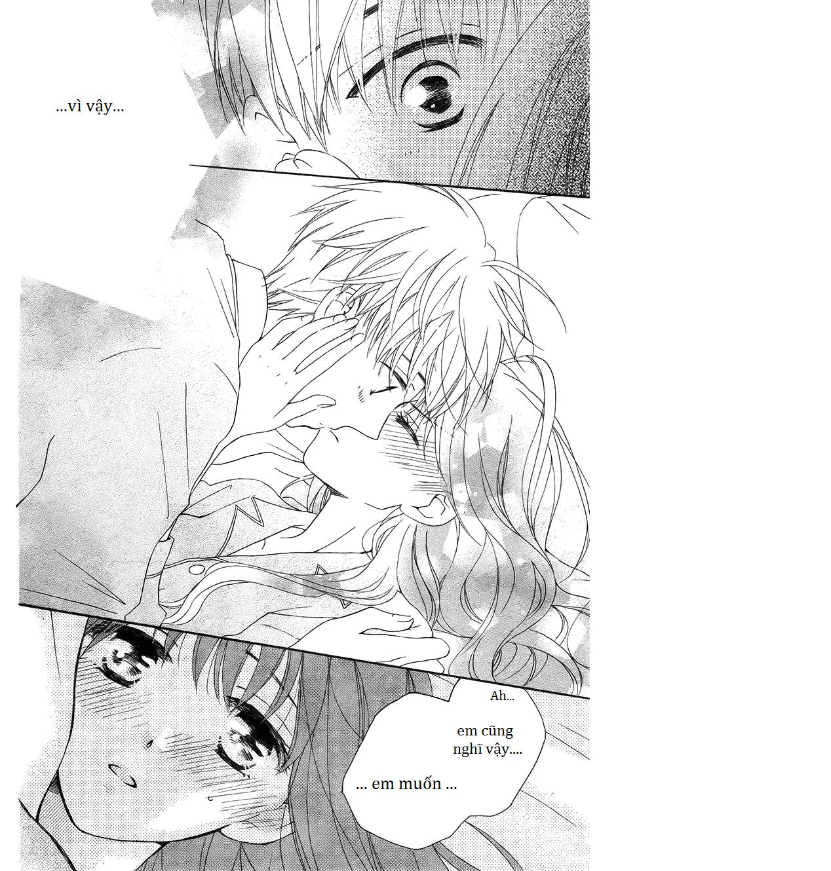 Faster than a kiss - Kiss Yori mo Hayaku: Chapter 57.7